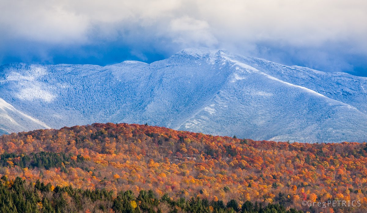 Mt. Mansfield -photo credit: Greg Petrics
