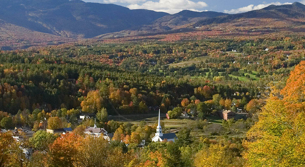 Stowe in the Fall