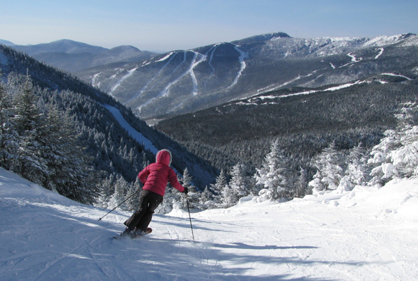Skiing at Smuggler's Notch